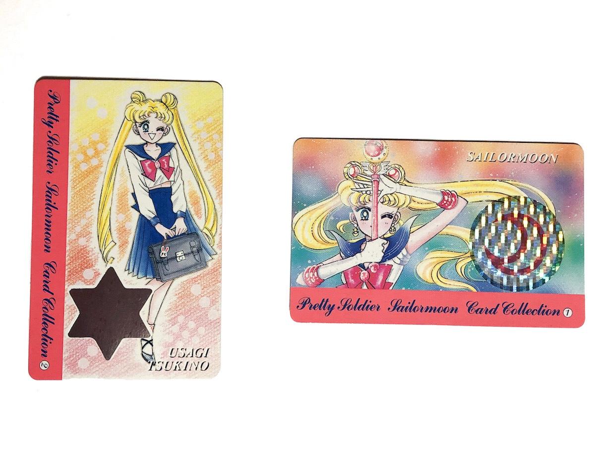 スーパープレミアムカード(うさぎ&セーラームーン)